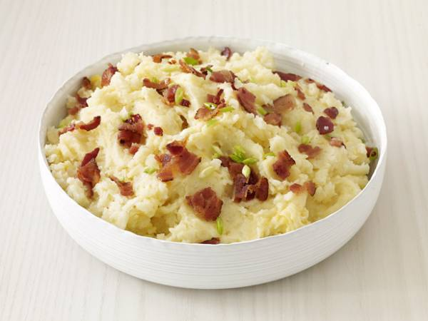... rich the mashed potatoes taste divine the bacon and chives give the
