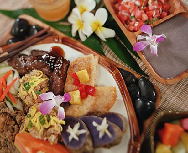 Dining options at Kauai, Hawaii