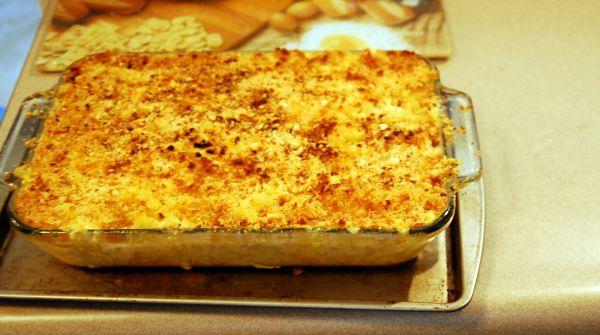 Cheesy Macaroni Casserole