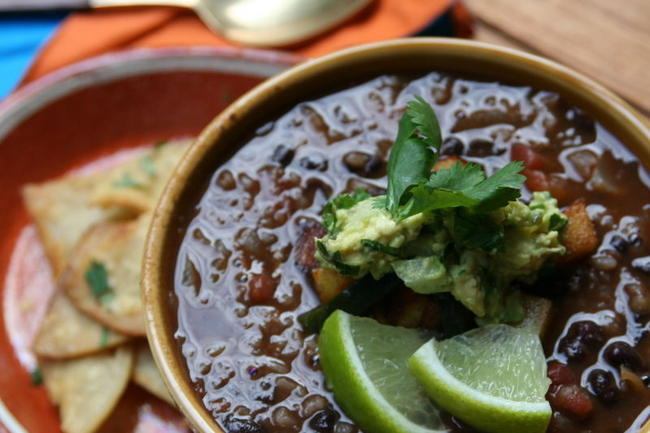 Chipotle black bean and rice