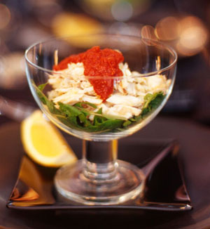 Crab cocktail salad
