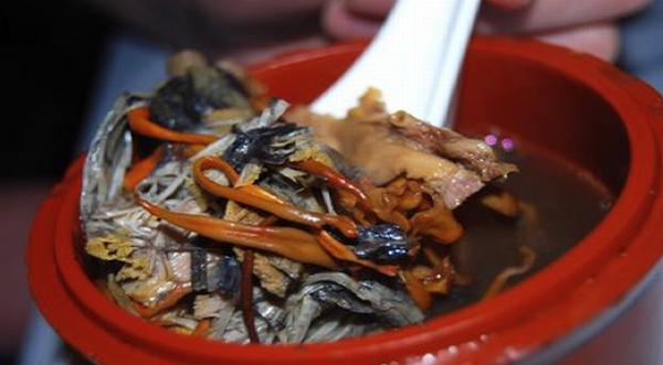 Deer Placenta Soup