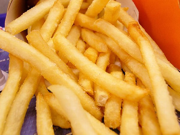 Dehydrate fries