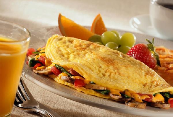 Delicious Veggie Omelet