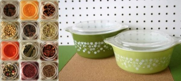 Durable non-plastic containers