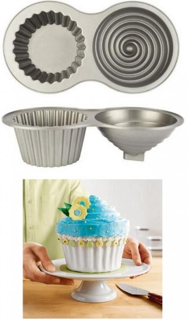 Giant Cupcake Pan Mold