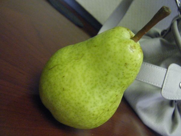 Healthy and tasty pear
