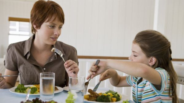 Healthy dinner for kid
