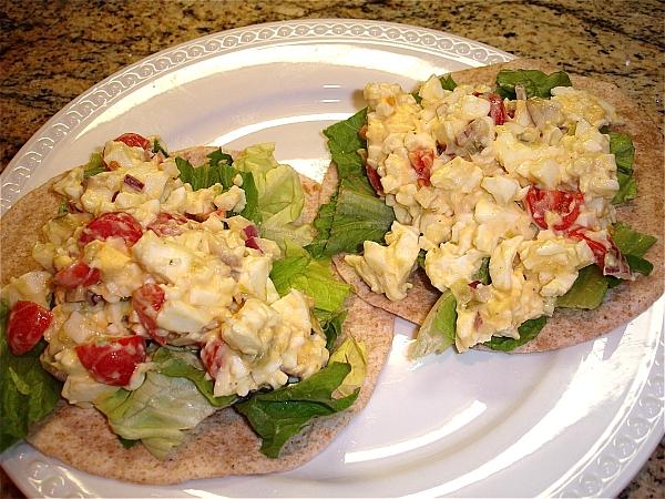 Heart Healthy Egg White Salad