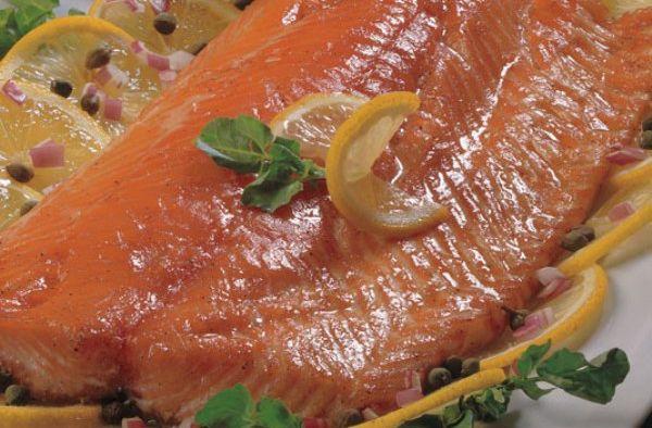 Honey Cured Salmon