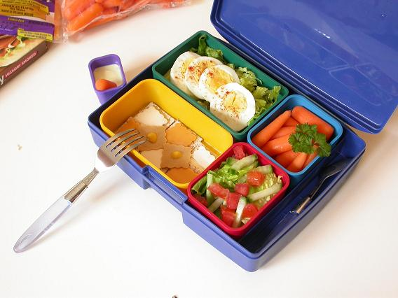 Healthy lunch pack
