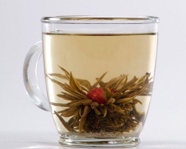 Jasmine flavor green tea
