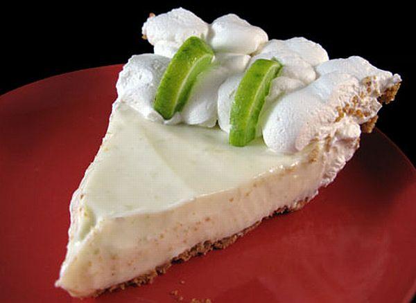 Key Lime Pie process