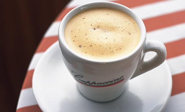 Kick start your day with some hot cappucino