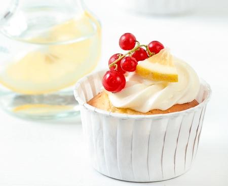 Lemon Limoncello cupcake
