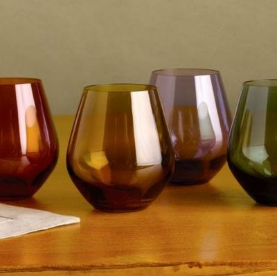 Top 10 red wine glasses under 50 always foodie - Lenox stemless red wine glasses ...