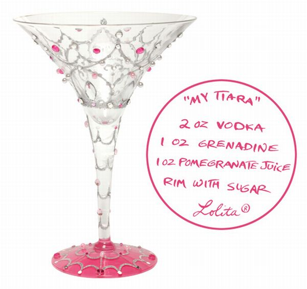 Lolita Love My Martini Glass, My Tiara