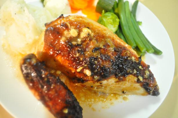 Low Fat Honey & Ginger Chicken