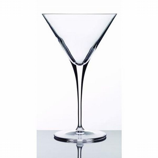 Luigi Bormioli Crescendo 4 piece Martini Glasses