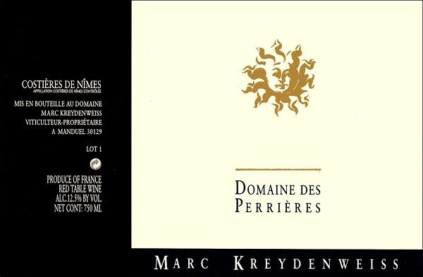 Marc Kreydenweiss Perrières Costières de Nîmes