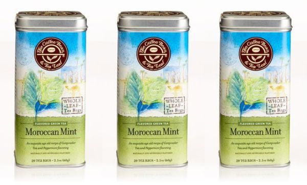 Moroccan mint flavor green tea