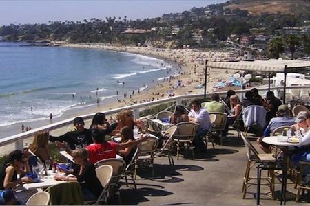 Ocean view restaurant
