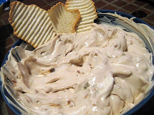 The creamy delight: Onion dip - Always Foodie