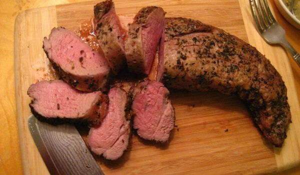 Oven cook pork tenderloin