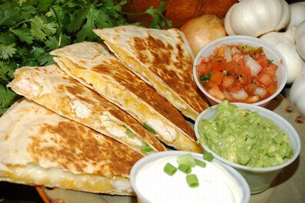 Quesadilla can have various variations