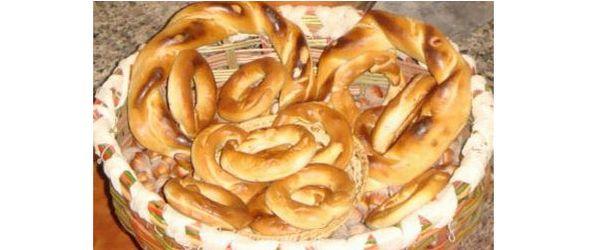 Ring shaped Ciambella breads