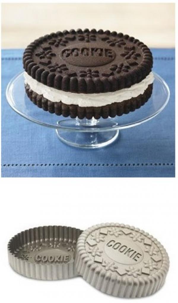 Sandwich Cookie Cake Pan Mold