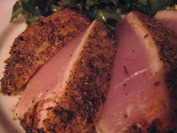 tuna with wasabi butter sauce seared ahi tuna salad with mizkan ponzu ...