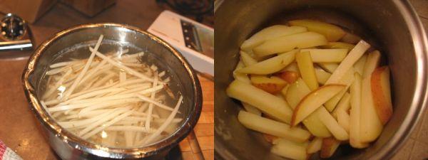 Soak fries