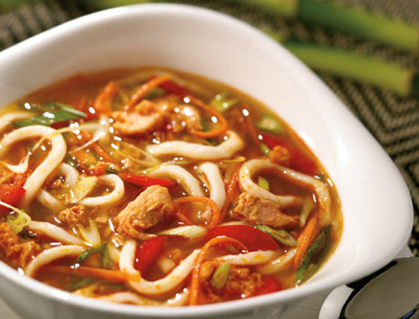 Thai tuna soup