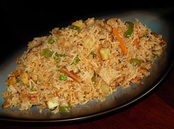 Veg. Pineapple fried Rice