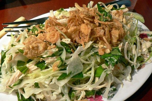 Vietnamese Cabbage and Chicken Salad