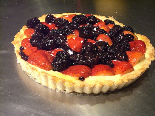 fruits in spanish healthy fruit tart recipe