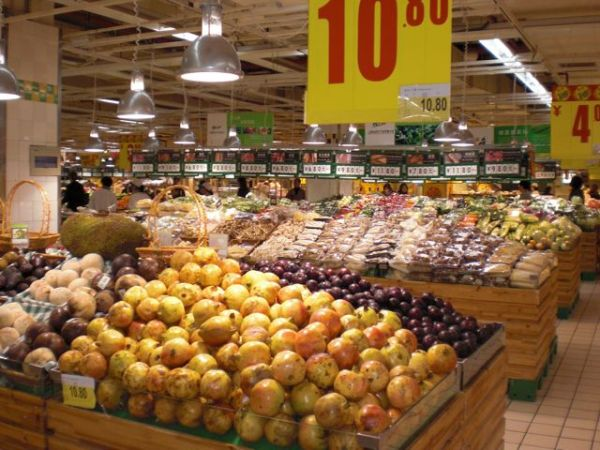 Seven peculiar food items from typically French supermarket