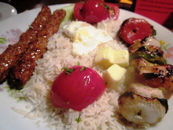 Chelo Kebabs of Peter Cat