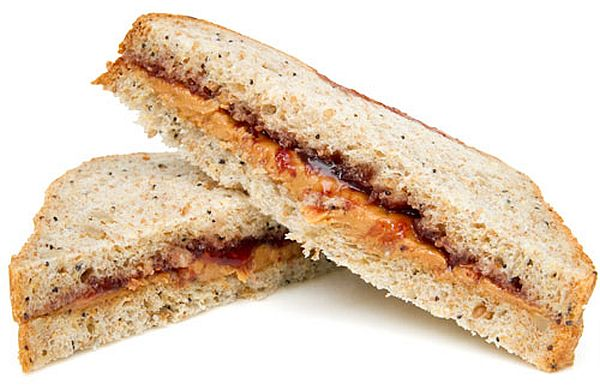 Sandwiches of Peanut Butter