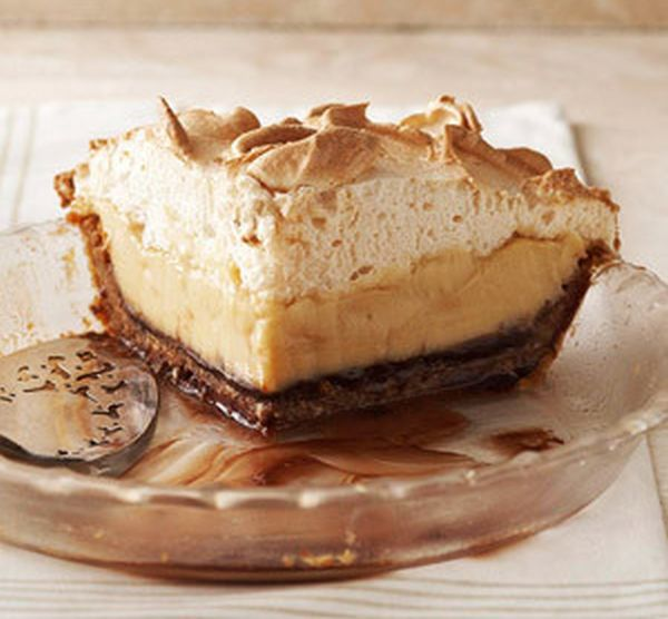 Brown Butterscotch Cashew Cream Pie
