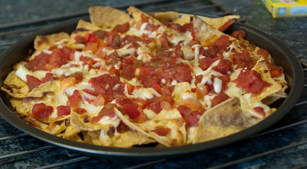 Nachos pizza