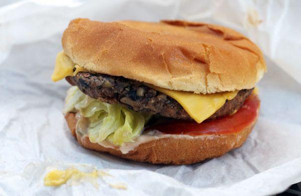 Oats flavored burger