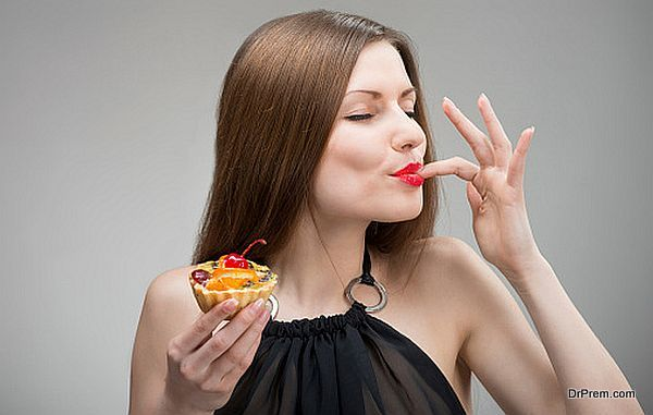 pastry eating