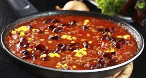 Chilli con carne in pan