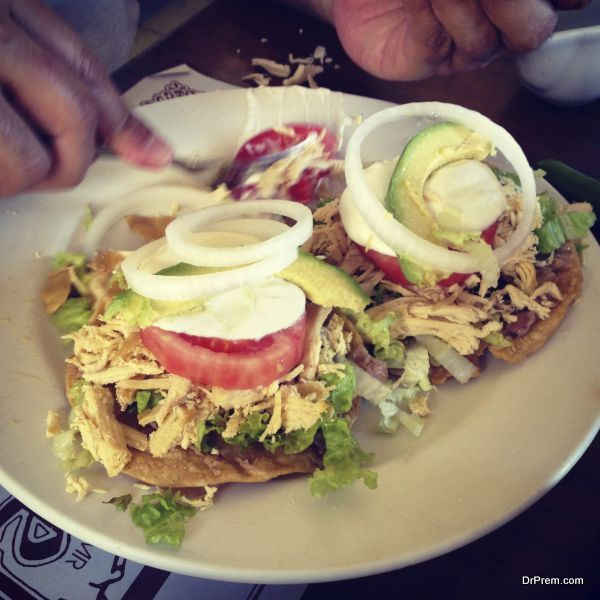 appetizing chicken tostadas (1)