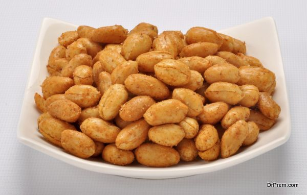 cooked peanuts