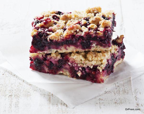 Buttery Gooey Blueberry Cake