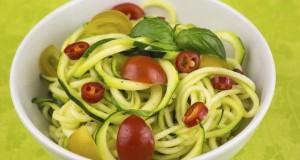 vegetarian zucchini noodles