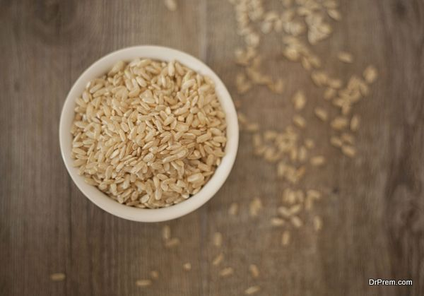 Eat brown rice instead of white